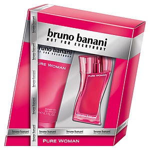 bruno banani parf m pure woman vir gos gy m lcs s szett. Black Bedroom Furniture Sets. Home Design Ideas