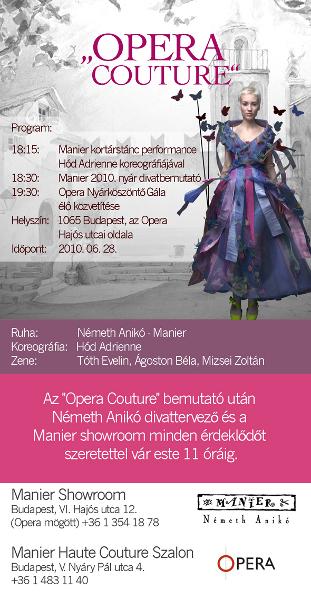 Manier Opera Couture